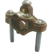 """Gampak Ground Clamp 1/2 """" To 1 """" Ul/Csa Used To Connect Armored Cable To Copper Bag"""