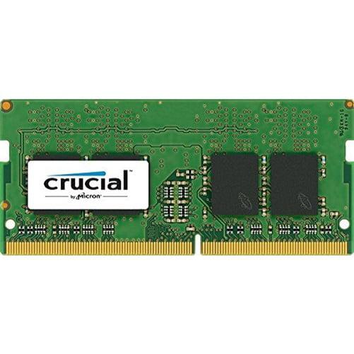 Crucial 4GB DDR4 SDRAM 2400 MHz 1.20 V Non-ECC Unbuffered 260-pin SoDIMM Memory