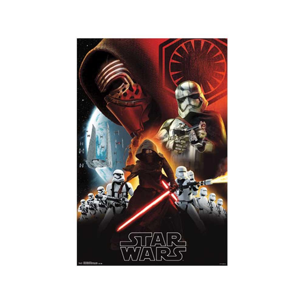 """Star Wars (TM) Poster 22""""X34""""-Episode 7"""