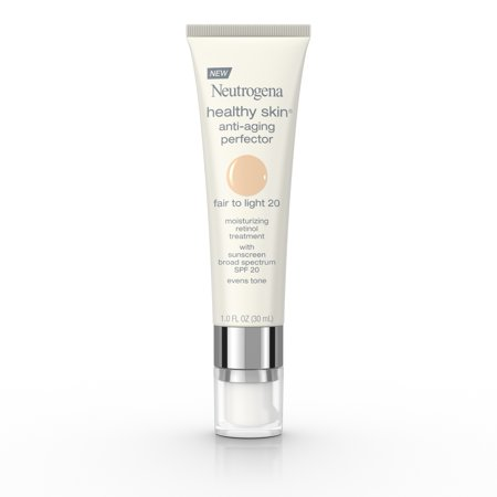 Neutrogena Healthy Skin Anti-Aging Moisturizer, Fair/Light, 1 fl. oz