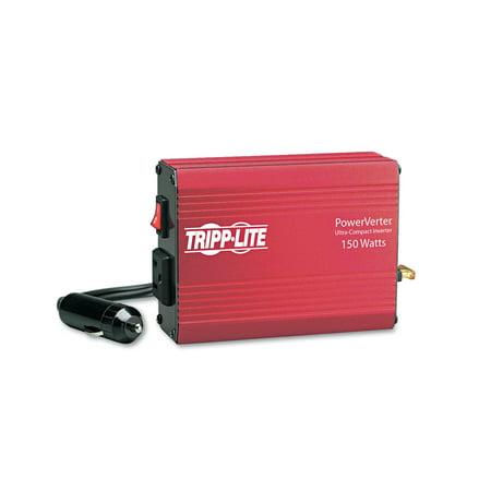 Tripp Lite PowerVerter 150W Inverter, 12V DC Input/120V AC Output, 1 Outlet