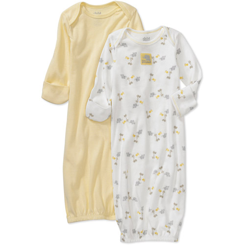 Child of Mine by Carter's - Newborn Gowns, 2-Pack