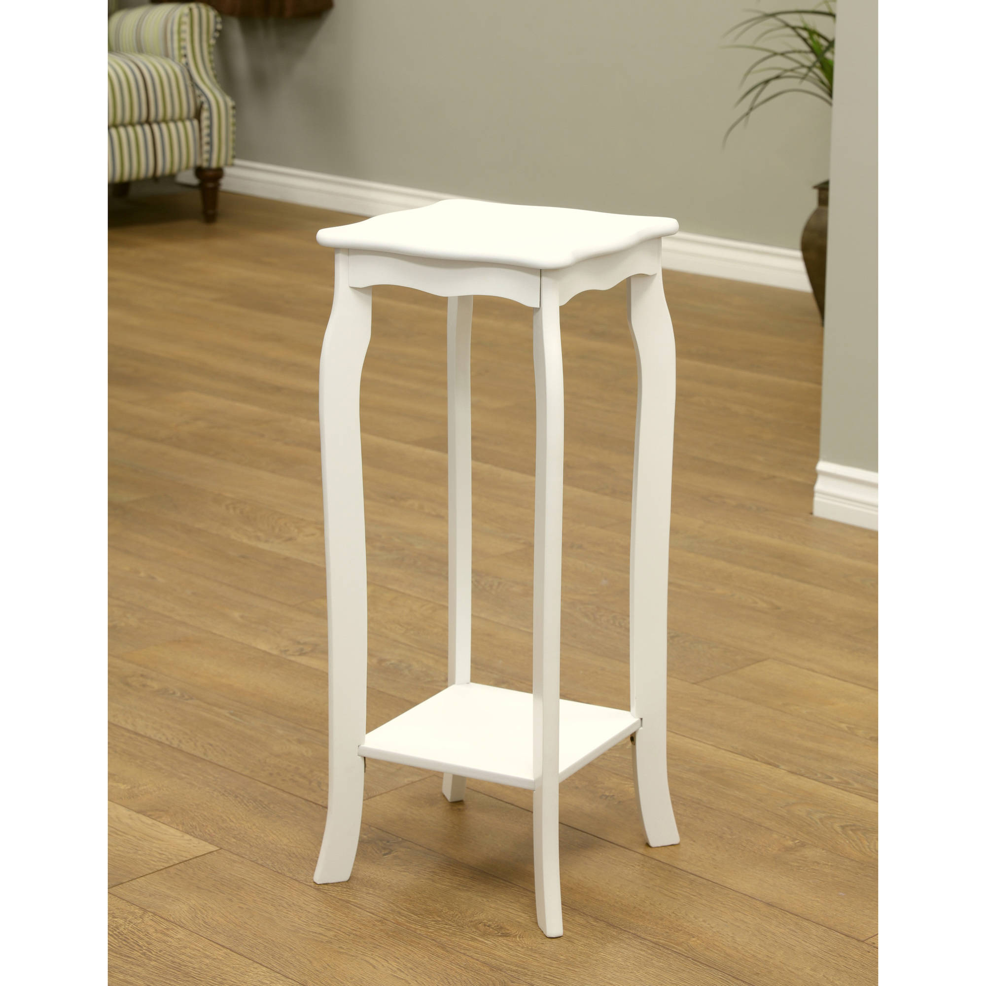 Home Craft Plant Stand, White