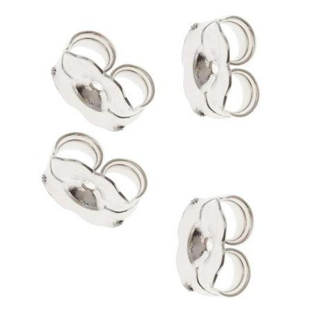 5005150 12-Piece Sterling Earring Backs, 5.5mm, (Tibetan Silver Findings)