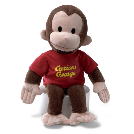 Gund Curious George Red Shirt - 16 Inches - image 7 of 7