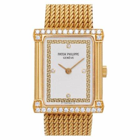 Pre-Owned Patek Philippe Les Grecques 4632/1 Gold Women Watch (Certified Authentic & Warranty)