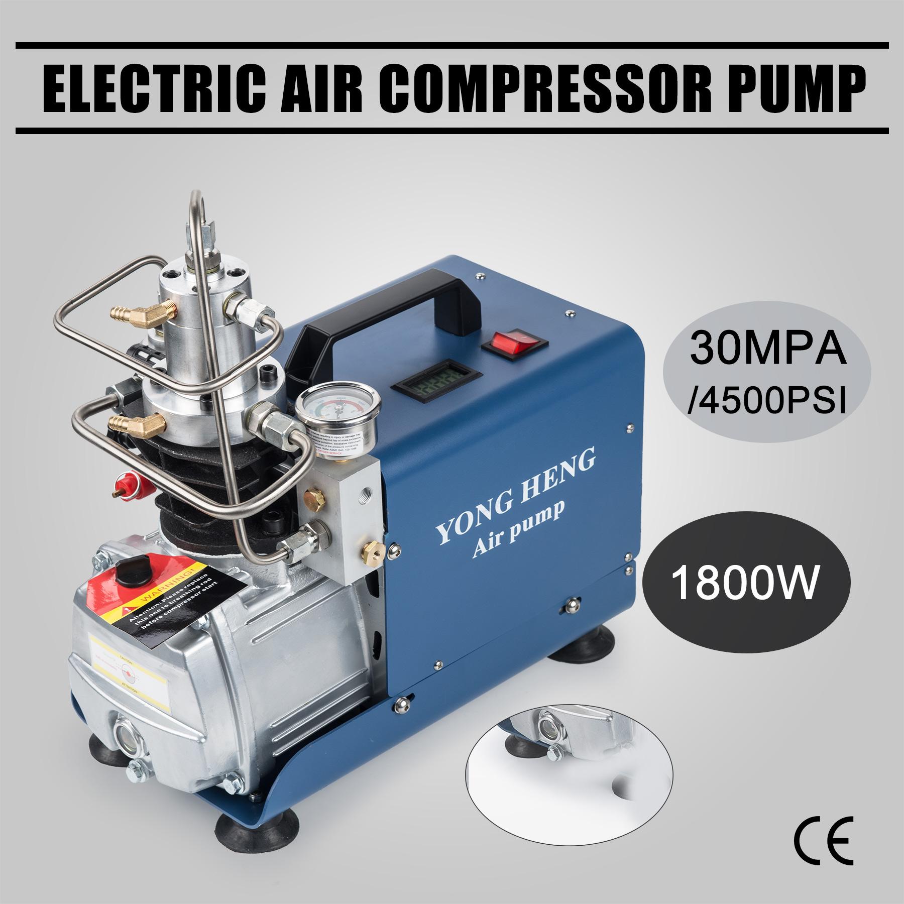 High Pressure Electric Air Compressor Pump 50 L / min 110V 30MPa