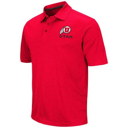 Mens Ncaa Utah Utes Polo Shirt  Team Color