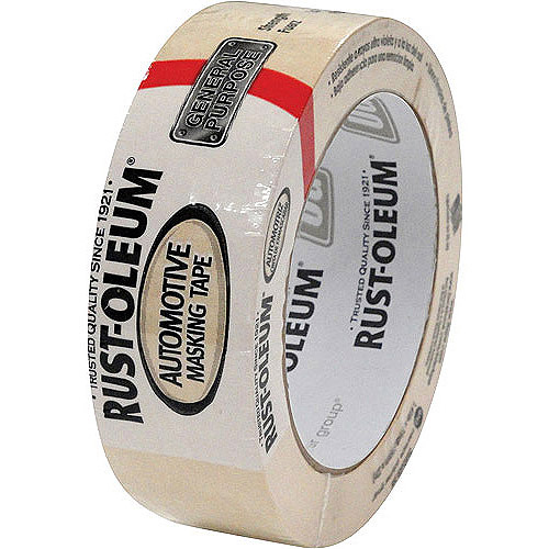Rustoleum General Purpose Automotive Masking Tape, Tan