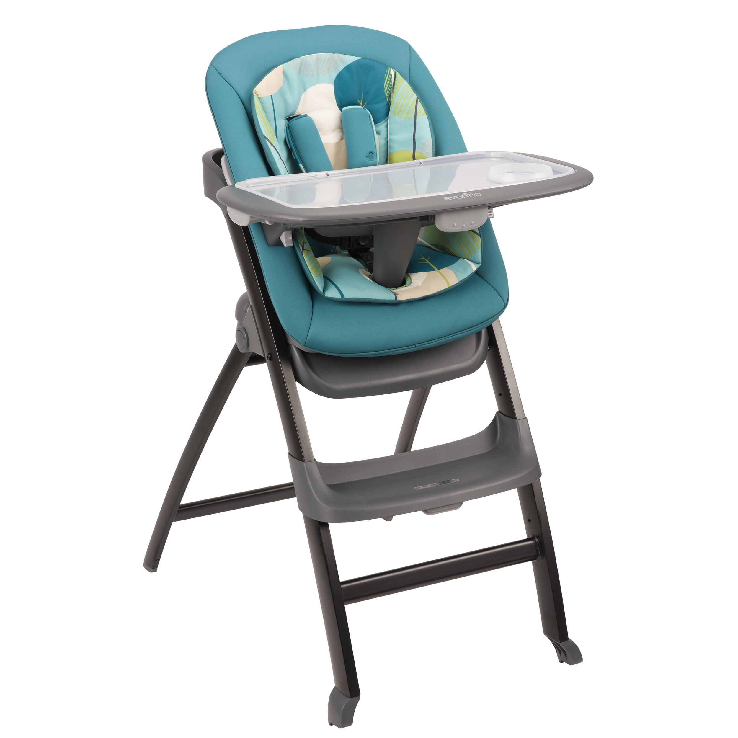 Evenflo 4-in-1 Quatore High Chair, Deep Lake by Evenflo