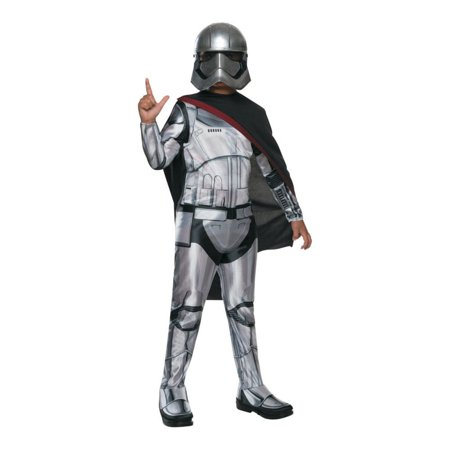Star Wars Episode VII Girls' Captain Phasma Child Halloween Costume