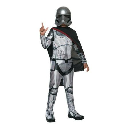 Star Wars Episode VII Girls' Captain Phasma Child Halloween Costume