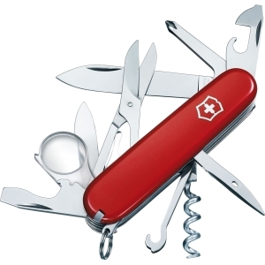Victorinox Explorer Swiss Army Knife - Red