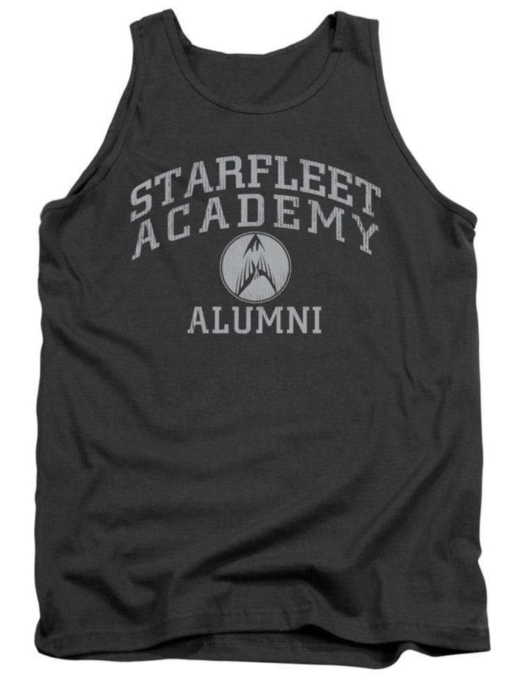 Star Trek Men's  Alumni Mens Tank Grey