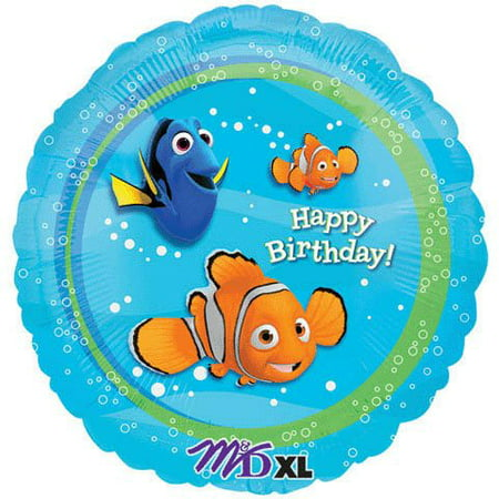 Finding Nemo Happy Birthday Party Mylar Balloon By angagram (Nemo Pinata)