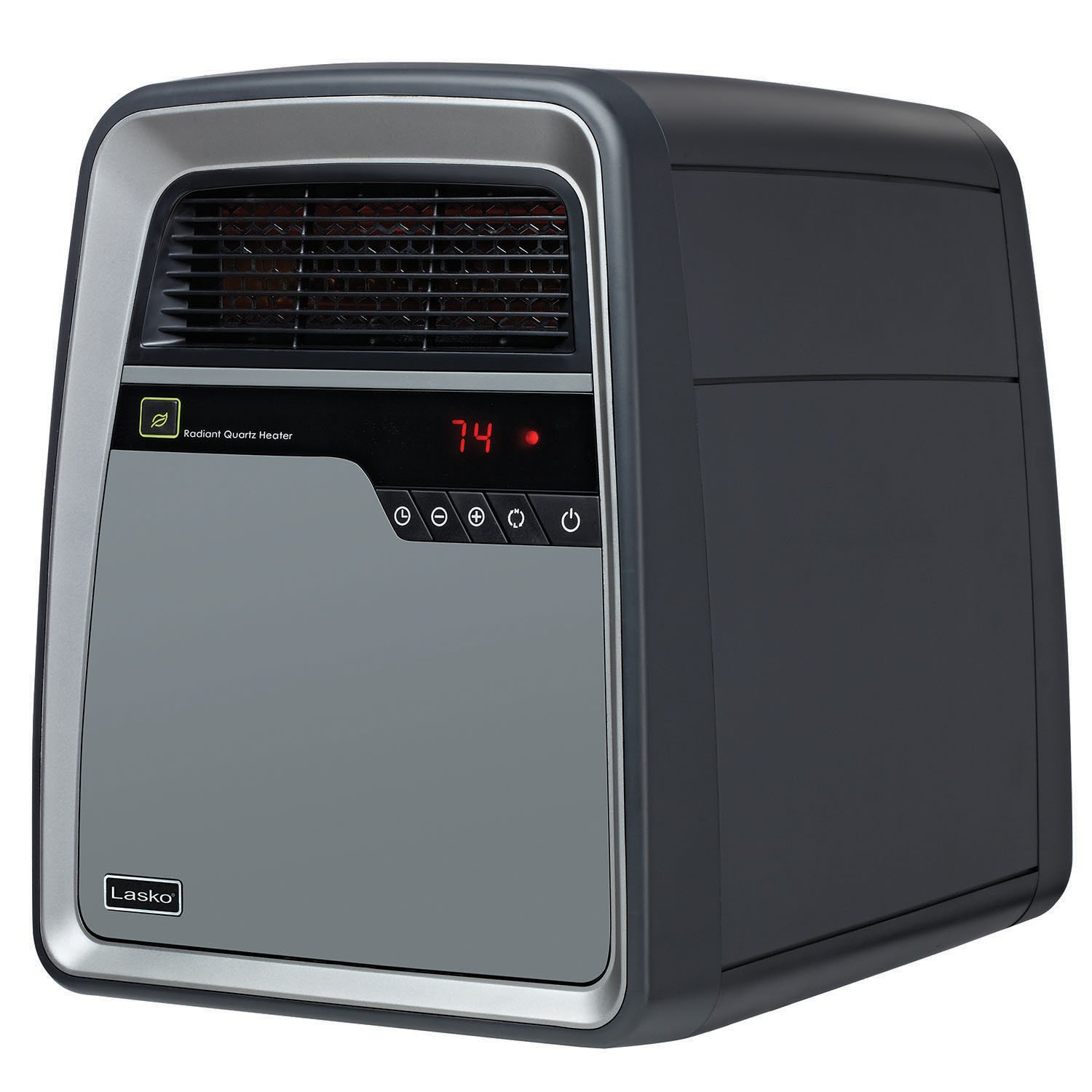 Lasko 6101 Cool-Touch Infrared Quartz Heater with Save-Smart Technology and Remote Control