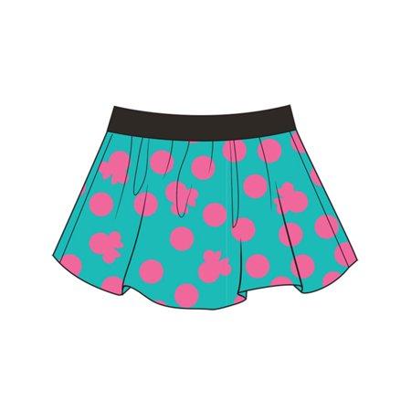 Disney Youth Girls Girlie Minnie Print Medium Skirt/Short](Girlie Girl Wholesale)