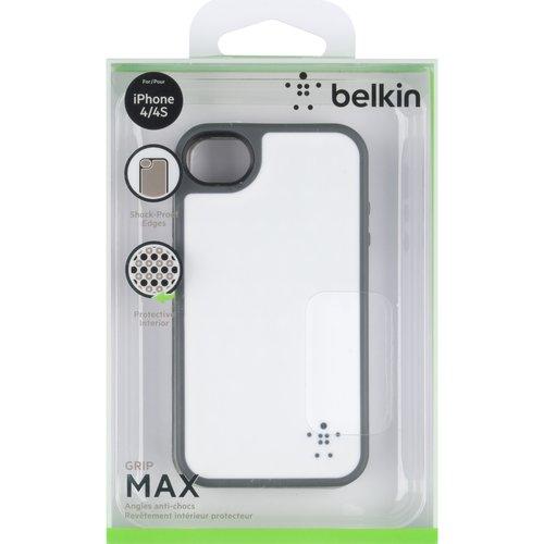 Belkin Cover/comold,pc/tpe,iphn4,opq,wht/grvl