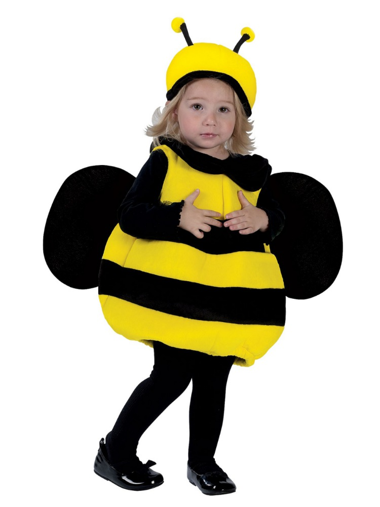 Fun World Toddler Girls Lil Bumble Bee Costume Plush Bumblebee Outfit 12-24 Months  sc 1 st  Walmart.com & Fun World Toddler Girls Lil Bumble Bee Costume Plush Bumblebee ...