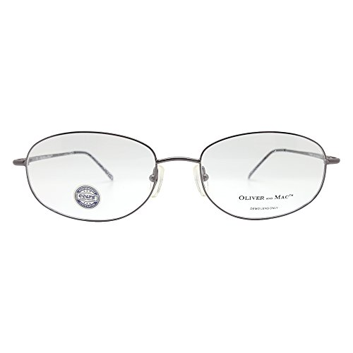 Oliver And Mac Men's London Eyeglasses Prescription Frames (Gun Metal, 57-19-145) - Walmart.com | Tuggl