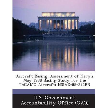 Aircraft Map (Aircraft Basing : Assessment of Navy's May 1988 Basing Study for the Tacamo Aircraft:)