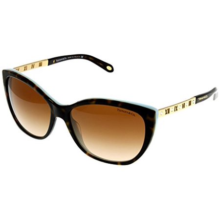 Tiffany & Co Sunglasses Womens Havana Butterfly TF4094B 81343B Size: Lens/ Bridge/ Temple: 59-16-140](Tiffany And Co Bags)