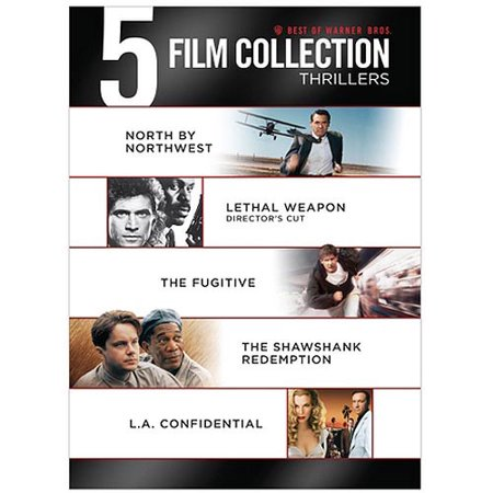 Image of Best Of Warner Bros. 5 Film Collection: Thrillers - North By Northwest / Lethal Weapon / The Fugitive / The Shawshank Redemption / L.A. Confidential (Widescreen)