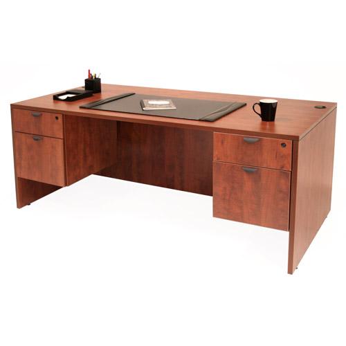 """Regency 60"""" Desk with Pedestals"""