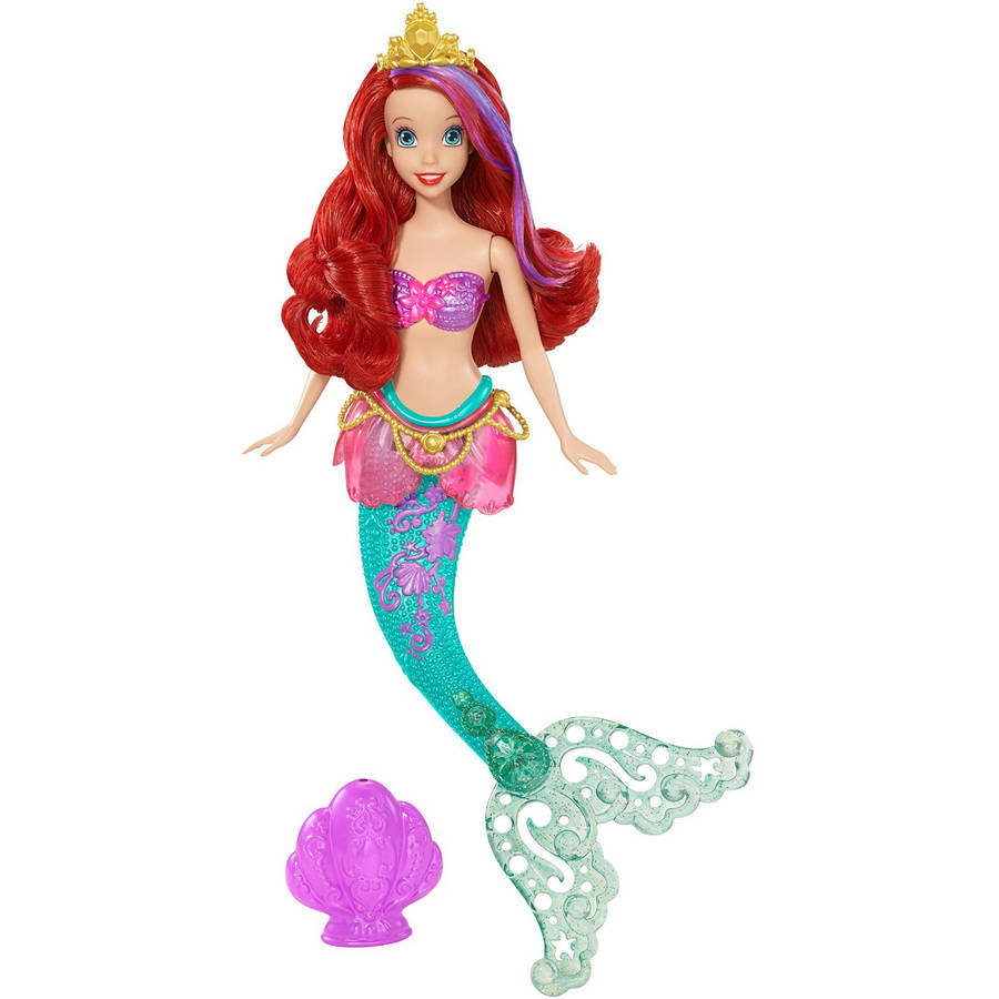 Disney Princess Bath Ariel Doll