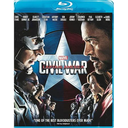 Captain America: Civil War (Blu-ray) (Captain America 1992 Movie)