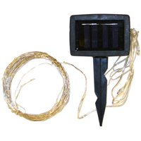 VCS LED Solar Light String, 50 Lights