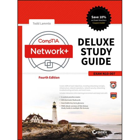Comptia Network+ Deluxe Study Guide: Exam N10-007 (Hardcover) Comptia Network+ Review Guide