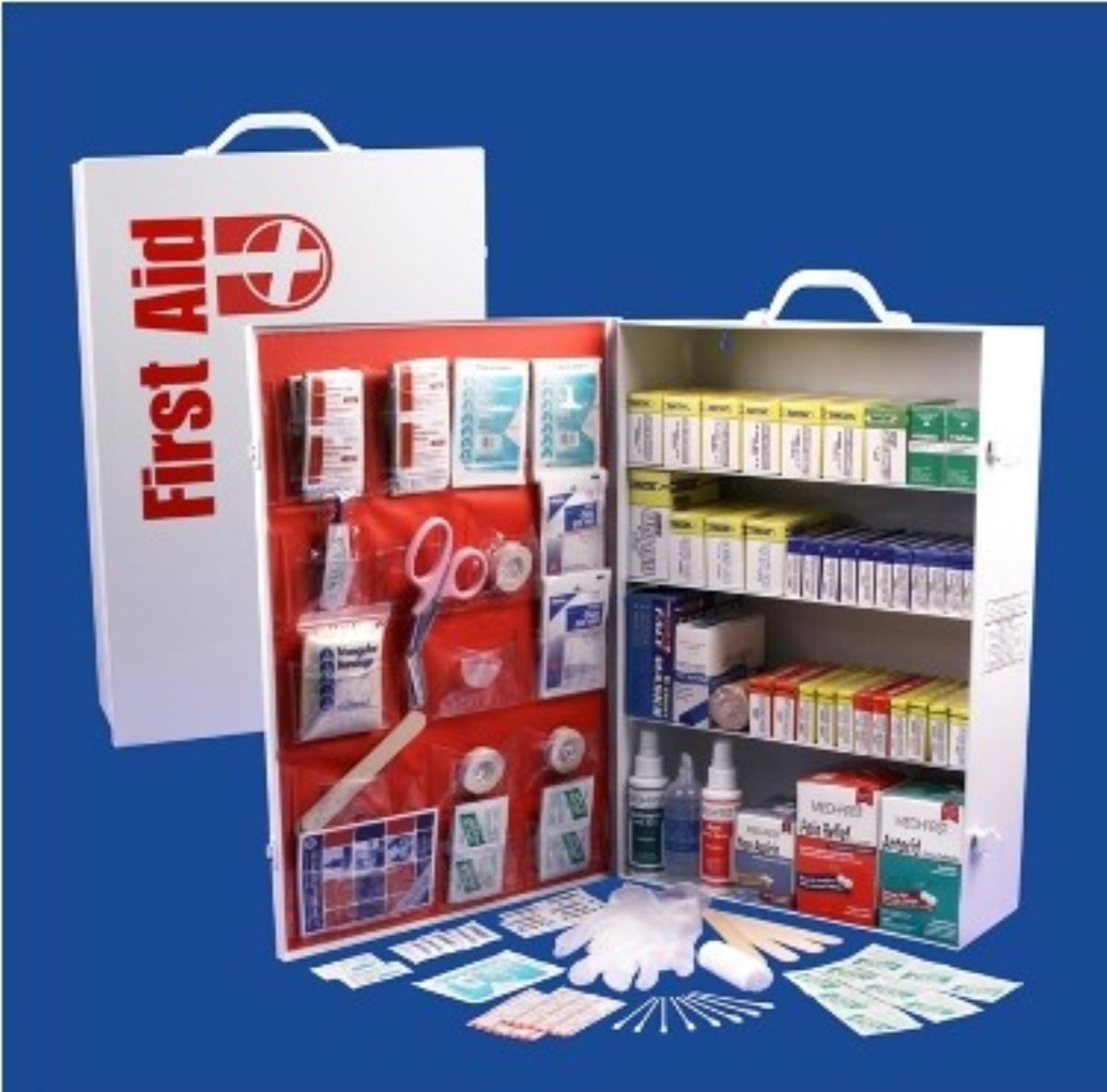 Guardian FAC4 4 Shelf First Aid Cabinet