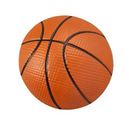 Basketball Pop Top Cake Topper - 1 Piece - National Cake Supply - Halloween Push Pop Cakes