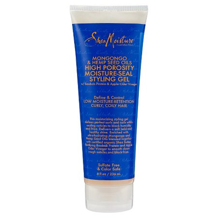 Shea Moisture Mongongo & Hemp Seed Oils High Porosity Moisture-Seal Styling Gel 8 fl Oz