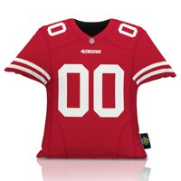 San Francisco 49ers 16'' x 16'' Jersey Pillow - Red