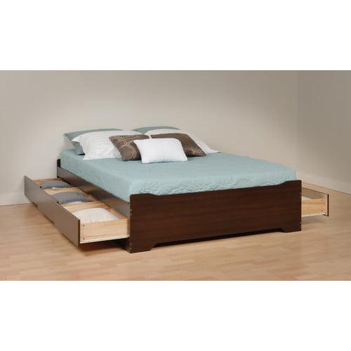 Prepac Storage Platform Bed