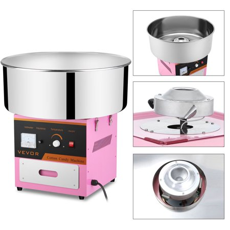 Cotton Candy Machine / Floss Maker Pink - Cotton Candy Champagne