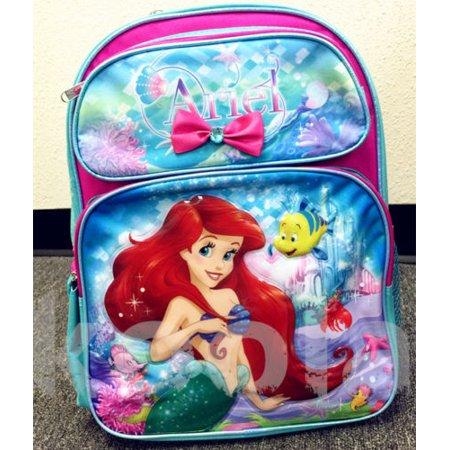 Disney Princess School Bag (Disney Princess Little Mermaid Ariel 16