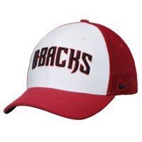 Arizona Diamondbacks Nike Vapor Performance Swoosh Flex Hat - White/Crimson