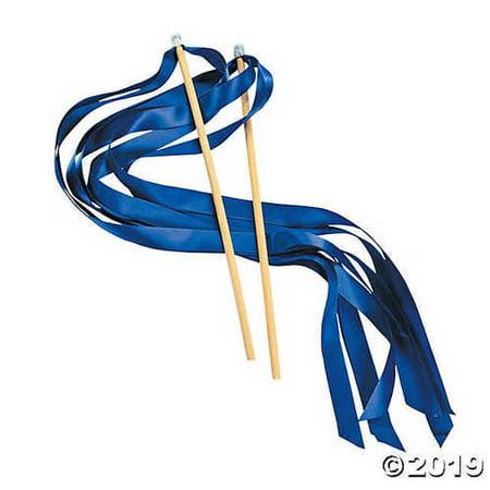 Blue Ribbon Wands (Cheap Ribbon Wands)