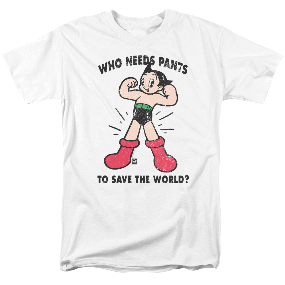 Astro Boy Who Needs Parts Mens Short Sleeve Shirt