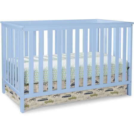 Storkcraft Rosland 3 in 1 Convertible Crib Sky (Modern Dot Crib)