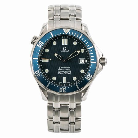 Pre-Owned Omega Seamaster 2531.80. Steel Watch (Certified Authentic & Warranty)