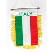 Italy - Window Hanging Flag