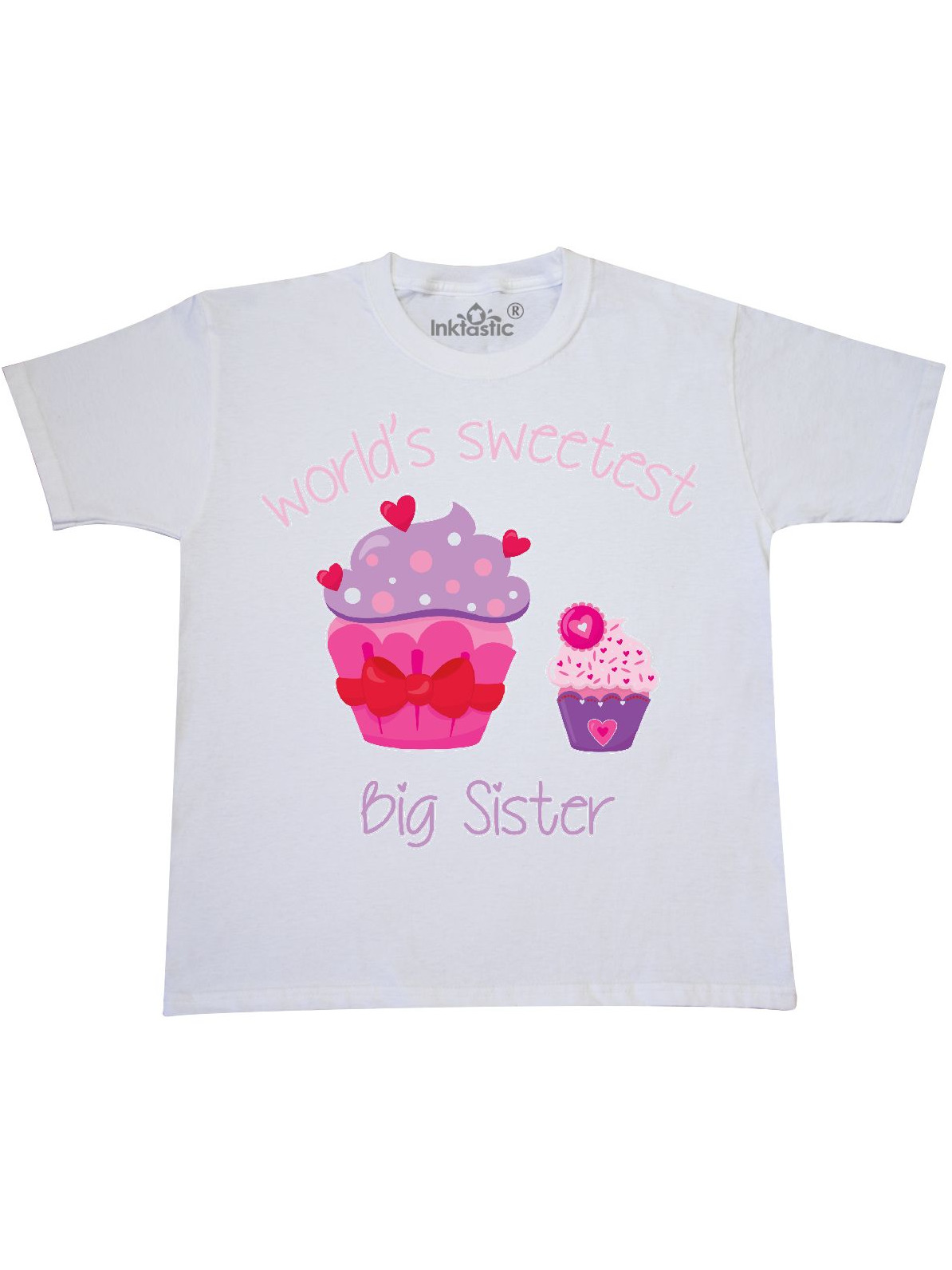 World's Sweetest Big Sister Youth T-Shirt