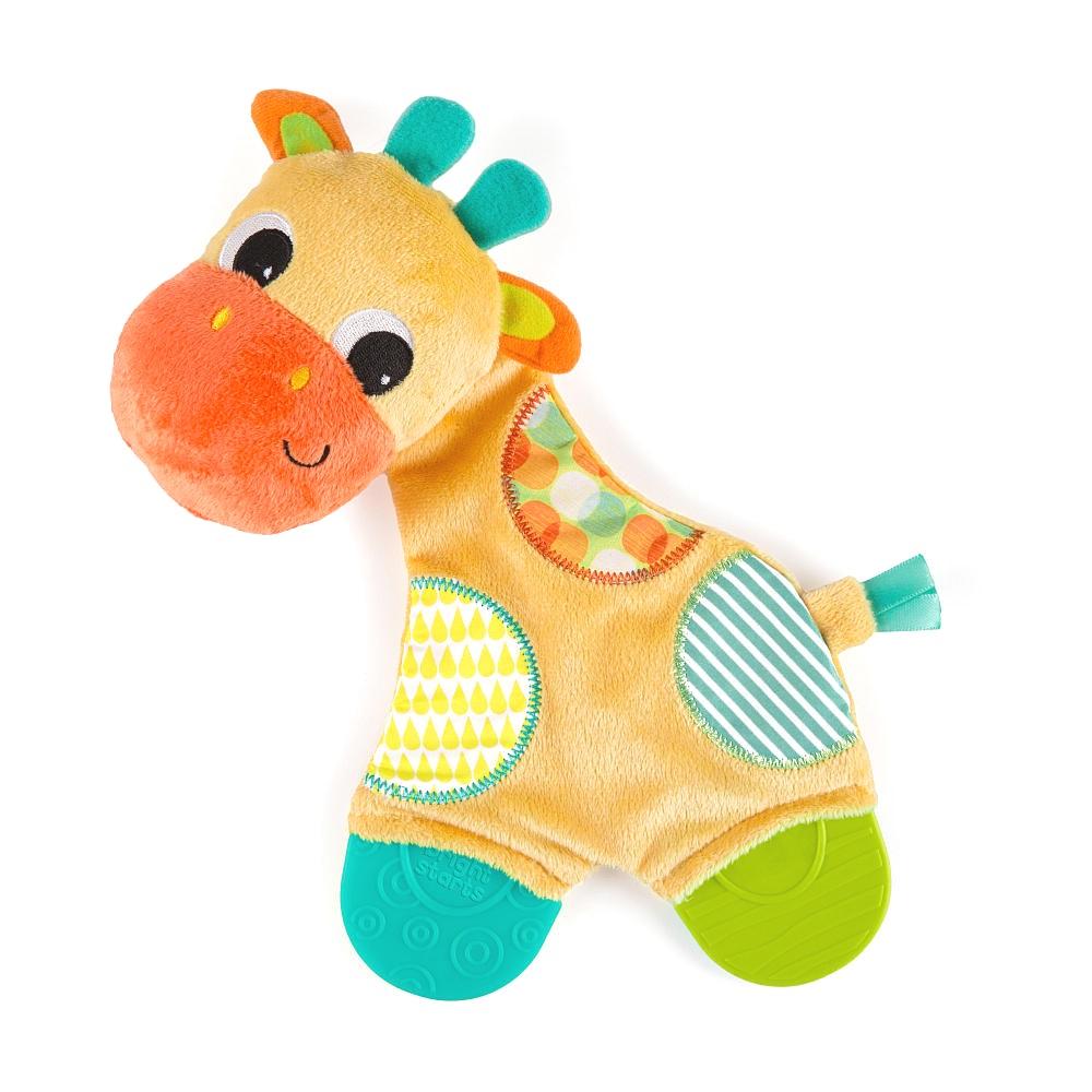 Bright Starts Snuggle Teethe Plush Toy Giraffe by Bright Starts