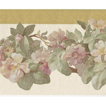 879089 Satin Apple Blossoms Wallpaper Border - Apple Halloween Wallpaper Hd