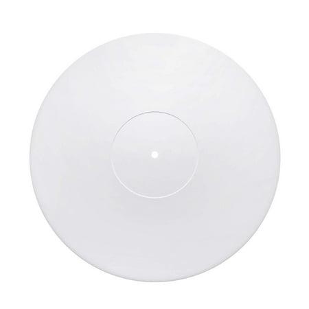 Acrylic Turntable Mat White Lp Slipmat Walmart Com