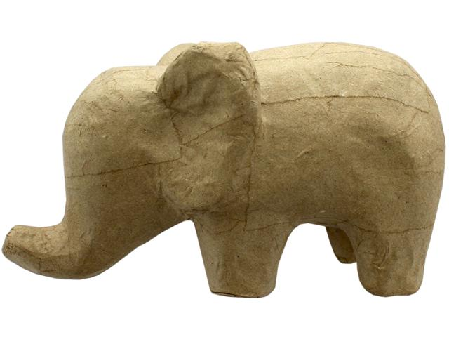 Gifting Ideas 8.25 x 4.5 inches Paper Mache Elephant Color Your Own /& Decorate Creative DIY Craft